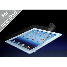 Acase(TM) Apple iPad 2 / iPad 3 (The New iPad) AcaseView Screen Protector Film Clear for Apple iPad 2 2nd Generation and iPad 3 (The New iPad) Wifi / 3G / 4G LTE Model 16GB, 32GB, 64GB (3-Pack)