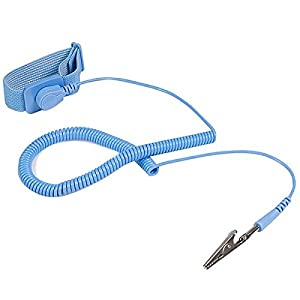 StarTech.com ESD Anti Static Wrist Strap Band with Grounding Wire SWS100 (Blue)
