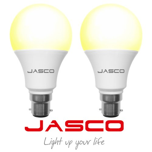 Jasco 5W B22 LED Bulb (Warm White, Pack Of 2)