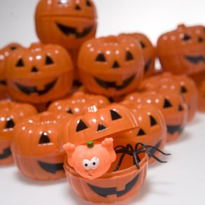 Toy Filled Jack O Lantern 24 pack