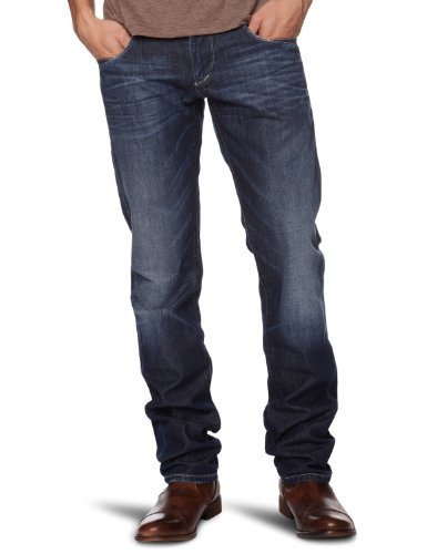 Hilfiger Denim Scanton Tapered Men's Jeans Pellham Worn W30 INXL32 IN