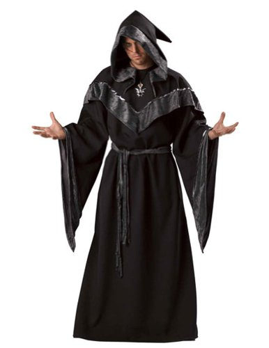 Dark Sorcerer Lg Halloween Costume - Adult 42-44