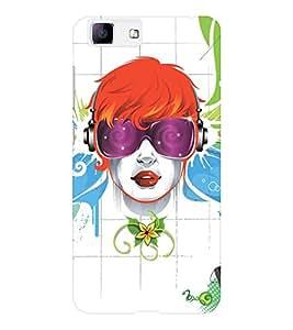 EPICCASE cool girl Mobile Back Case Cover For Vivo X5 (Designer Case)