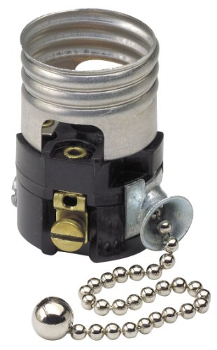 Images for Leviton 19980-M Medium Base Interior Only, Shell Incandescent Lampholder, Pull Chain, Single Circuit