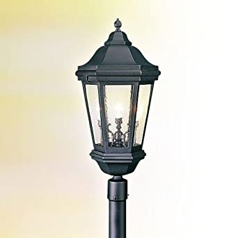 verona cast aluminum outdoor lamp post light fixture. Black Bedroom Furniture Sets. Home Design Ideas
