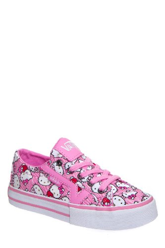 Vans Kid's Tory Hello Kitty Low Top Lace Up Sneaker