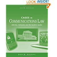 Cases in Communications Law (McGraw-Hill Series in Mass Communication and Journalism)