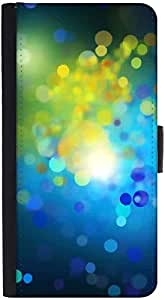 Snoogg Colourful Bubblesdesigner Protective Flip Case Cover For Htc One S