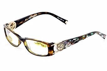 Ed Hardy Lites Eyeglasses Frames : Ed Hardy EHO718 Eyeglasses EHO 718 Olive Optical Frames