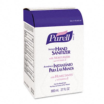 PURELL Instant Hand Sanitizer Refill Bag-In-Box, 800