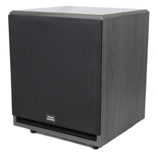Theater Solutions Sub12F 500 Watt 12-Inch Surround Sound Hd Home Theater Powered Active Subwoofer (Black)