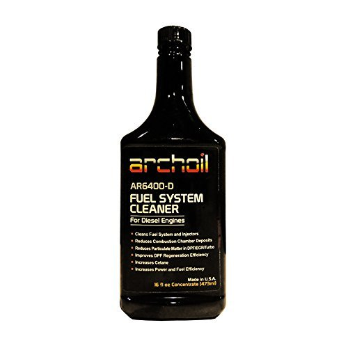 AR6400-D (16 Oz) - Professional Diesel Fuel System and Engine Cleaner (Treats 25 Gallons of Diesel)