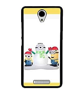 printtech Minions Christmas Snowman Back Case Cover for Xiaomi Redmi Note 2::Xiaomi Redmi Note 2 (2nd Gen)
