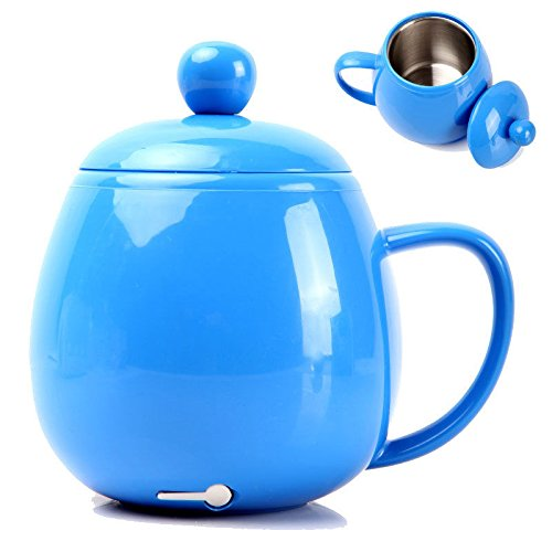 Electric Usb Cup Mug Warmer Heater For Tea Coffee Beverage Water Soup Blue