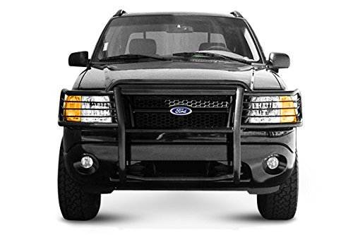 Black Horse 17FJ24MA Black Grille Guard (2002 Ford Explorer Grill Guard compare prices)
