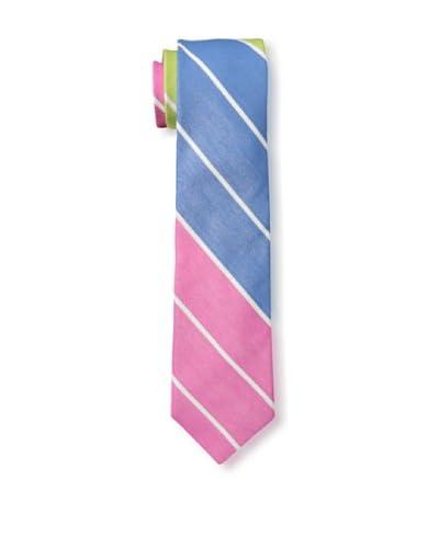 Gitman Men's Diagonal Stripe Tie, Pink