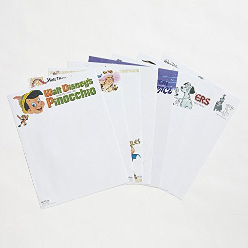 walt-disney-archives-collection-letterhead-stationery-volume-2-40-sheets