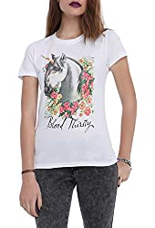 Bloody Thirsty Unicorn Girls T-Shirt