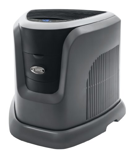 Essick Air EA1201 Digital Whole-House Console-Style Evaporative Humidifier, Mini, Silver and Black Design Essick Air B00F1H4AG2