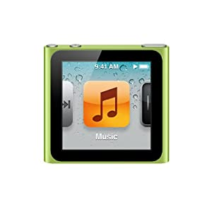 Apple iPod nano 8GB - Green - 6th Generation (Latest Model - Launched Sept 2010)