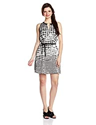 Gas Women's Tulip Dress (85367200_Black and White_Large)