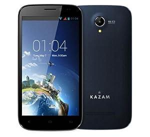 Téléphone portable - Kazam Trooper 650L Noir - Smartphone 4G-LTE - ARM Cortex-A53 Quad-Core 1.4 GHz - RAM 1 Go - Ecran tactile 5