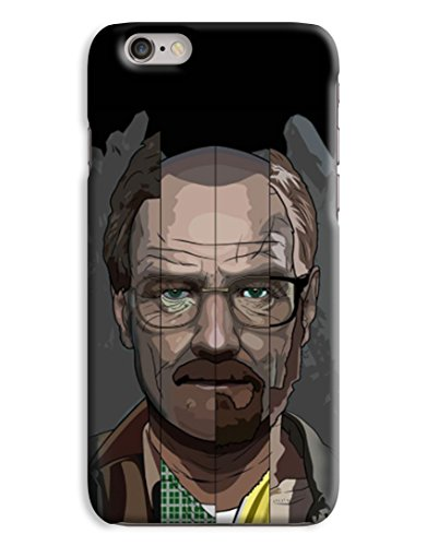 Walter White Heisenberg Breaking Bad Design 3D Printed Design iPhone 6 Plus Hard Case Protective Cover Shell