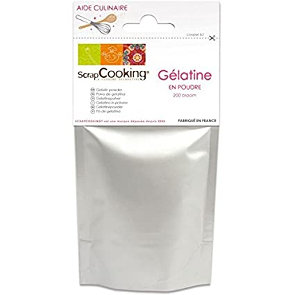 gelatina en polvo