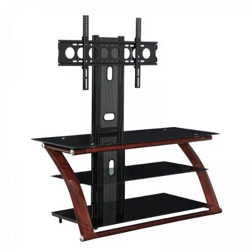 Innovex Nexus UV TV Stand, 52-Inch, Dark Espresso