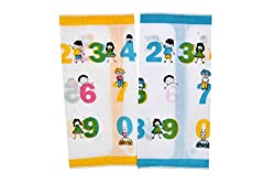 Riqueza Unisex Handkerchief (Pack Of 2) (RCNTH_Multi_Free Size)