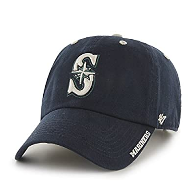 MLB Seattle Mariners Ice Adjustable Hat, One Size, Navy