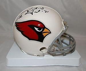 Buy Patrick Peterson & Tyrann Mathieu Autographed Arizona Cardinals Mini Helmet - JSA Certified -... by Sports Memorabilia