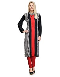 Just Wow Casual Striped Women's Kurti