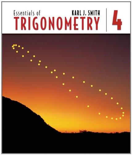 Essentials of Trigonometry (with CD-ROM and iLrn(TM)...