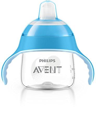 Philips Avent SCF751/05 Tazza con Beccuccio Morbido e Valvola Anti-Goccia Brevettata, 200 ml, Azzurro