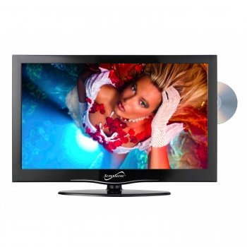 "Exclusive Supersonic SC-1312 13.3"" Widescreen LED HDTV with Built-in DVD Player By SUPERSONIC"