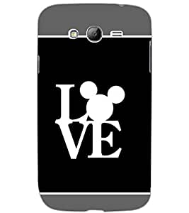 SAMSUNG GALAXY GRAND LOVE Back Cover by PRINTSWAG