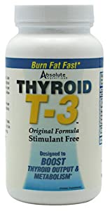 Absolute Nutrition Thyroid T3, 60-Count