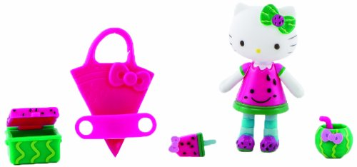 Hello Kitty Fruit Mini Doll, Watermelon - 1