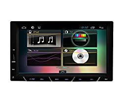 See 7 Inch Capacitive Pure 2 Din Android 4.2 Car PC GPS Radio NO DVD DISC Bluetooth Headunit PC video player Cortex A9 Dual Core 1GB RAM 1G CPU Details