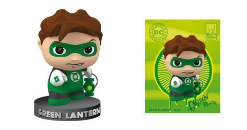 DC Comics Little Mates Green Lantern Figurine And Puff Sticker - 1