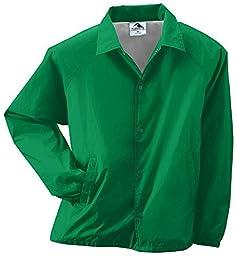 Augusta Sportswear MEN\'S NYLON COACH\'S JACKET/LINED M Kelly
