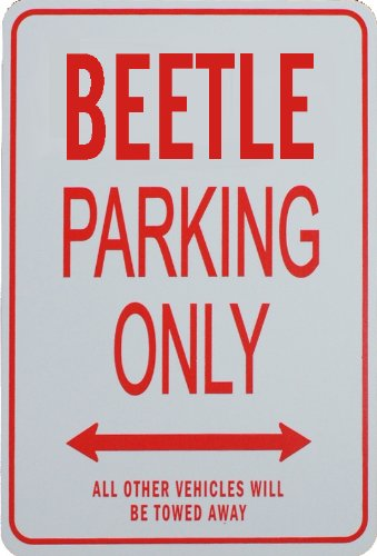 beetle-parking-only-sign