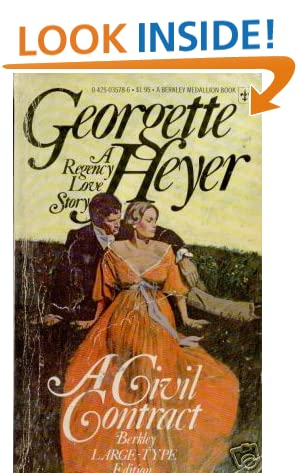 A Civil Contract, Heyer, Georgette