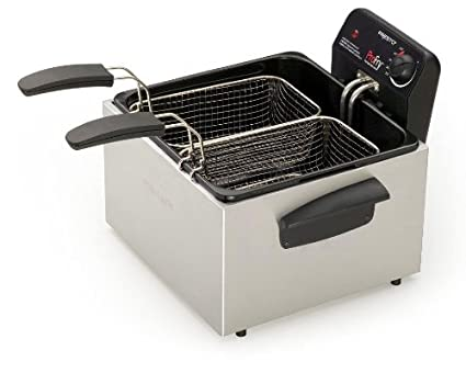 Presto-05466-Dual-Basket-Pro-Fry-Deep-Fryer