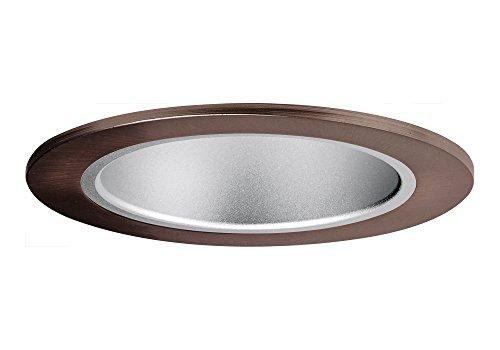 "Aurora 5"" Haze Cone, Bronze Trim For Halo / Juno Recessed Downlight Cans - Ar-Tr53Hzbr"