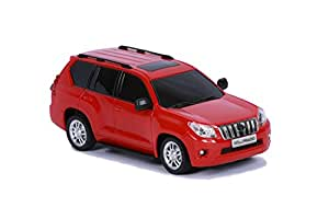 Mitashi Dash 1:12 Rechargeable R/C Toyota Prado, Red