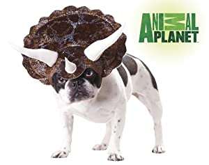 Animal Planet PET20104 Triceratops Dog Costume by California Costume Collections