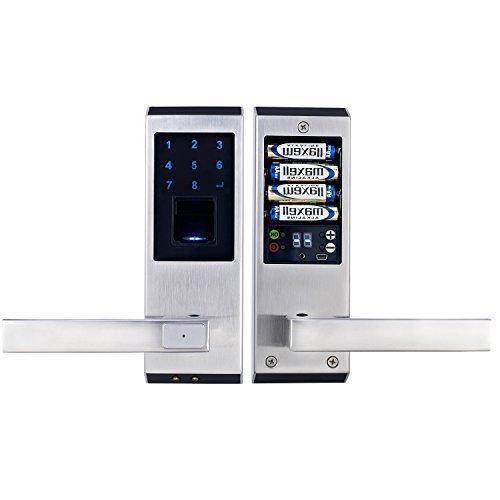 ardwolf a20 security rate keyless biometric fingerprint door lock