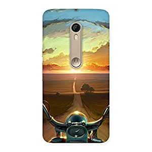 Special Wonder Cruise Way Multicolor Back Case Cover for Motorola Moto X Style